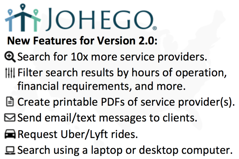 Johego Version 2.0 New Features